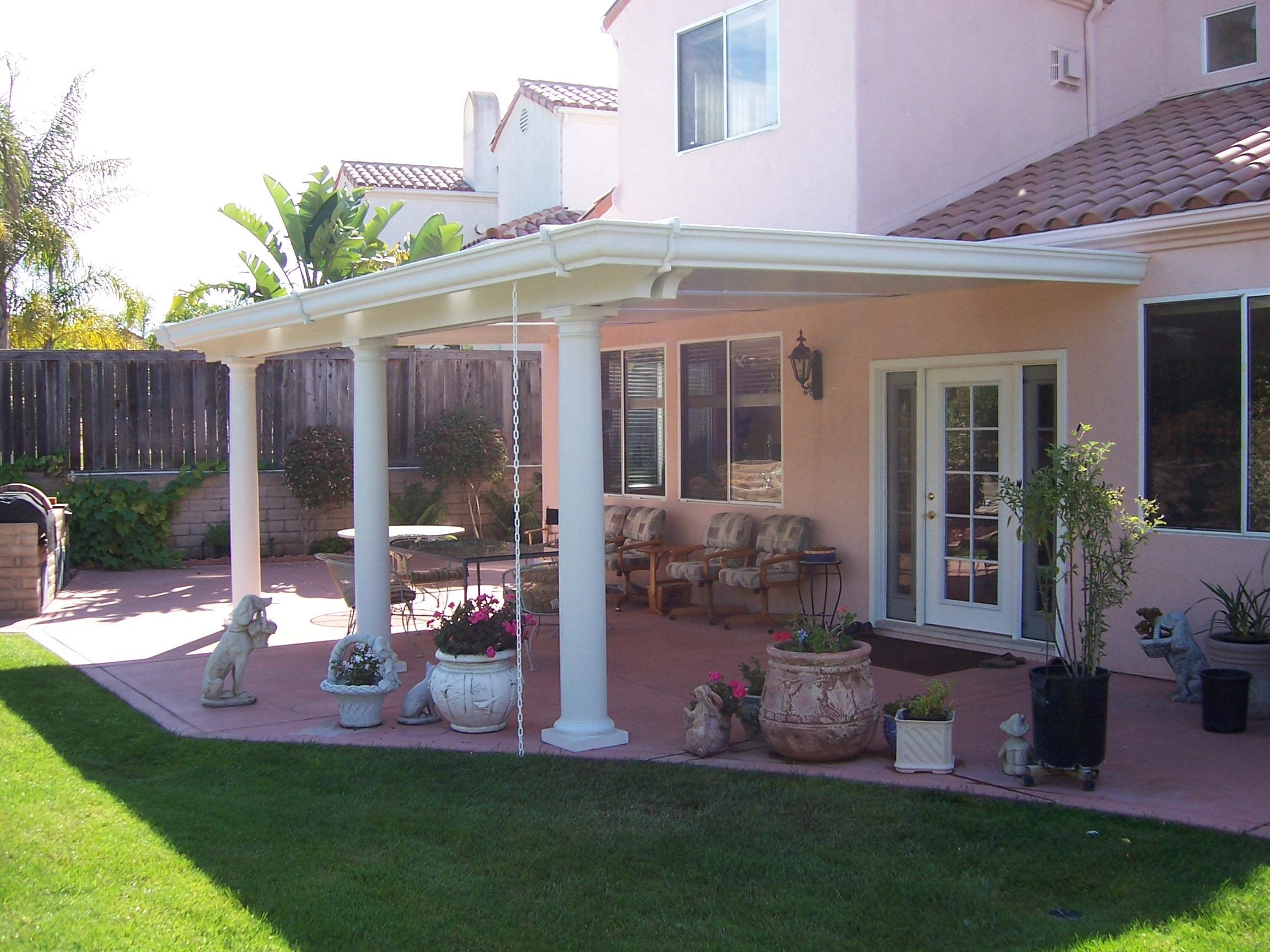 Patio Covers Los Angeles Vinyl Patio Covers In Los
